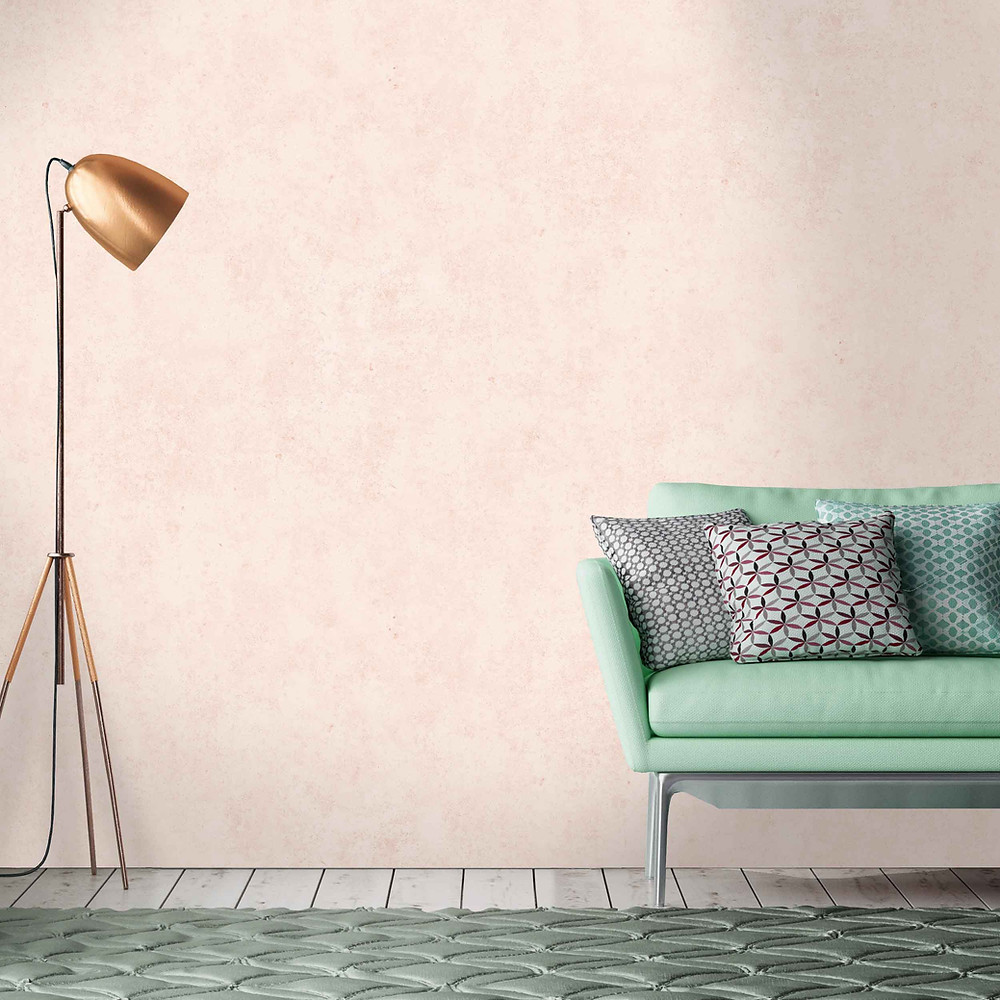 Blush pink wallpaper by woodchip and Magnolia