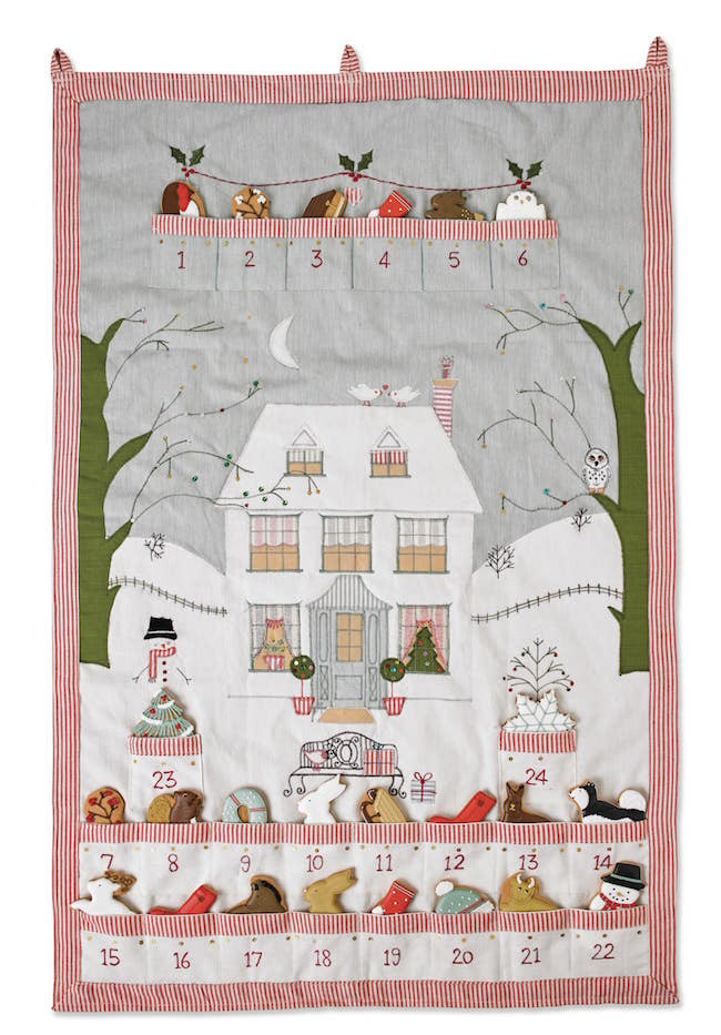 limited edition biscuiteers advent calendar