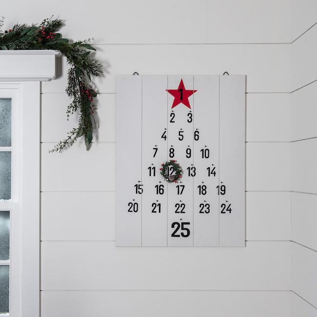 Minimalist monochrome Advent Calendar