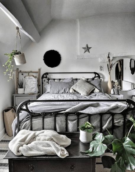 Down cross house bedroom