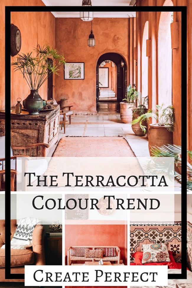 Terracotta colour trend blog