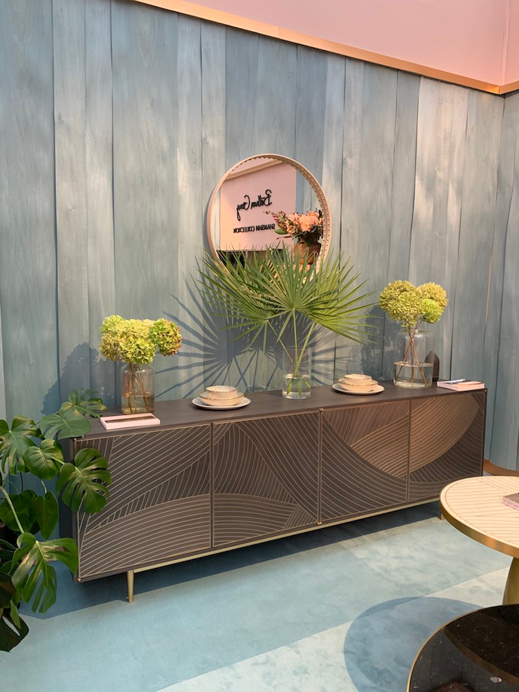 Bethan Grey sideboard at Decorex