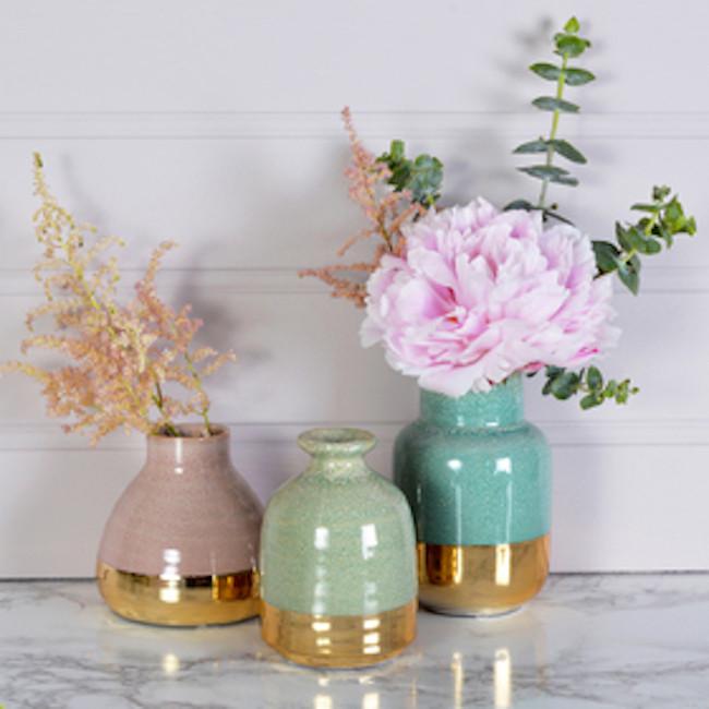Addenda Summer pastel vases