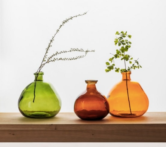 win a glass bubble vase