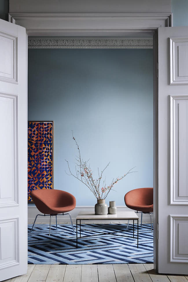 Pot Chair Terracotta Orange