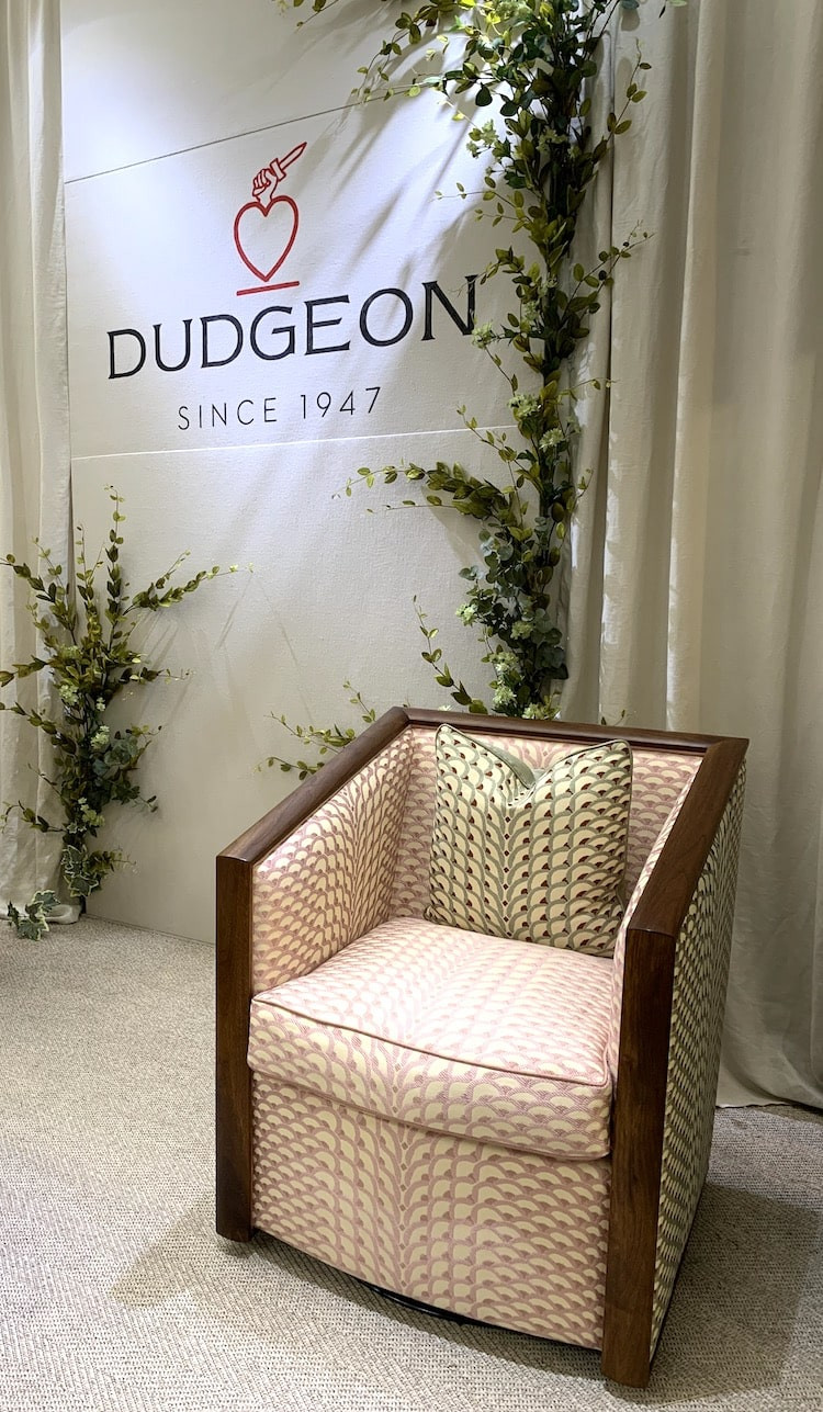Dudgeon at Decorex