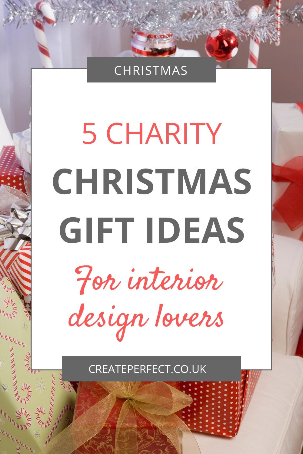 Charity Christmas Gift guide