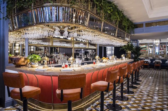Bar at the Ivy Brasserie Bath