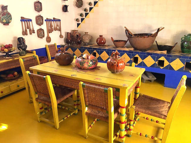Frida Kahlo's Kitchen at Casa Azul