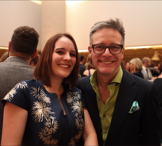 Gina Everett with Daniel Hopwood