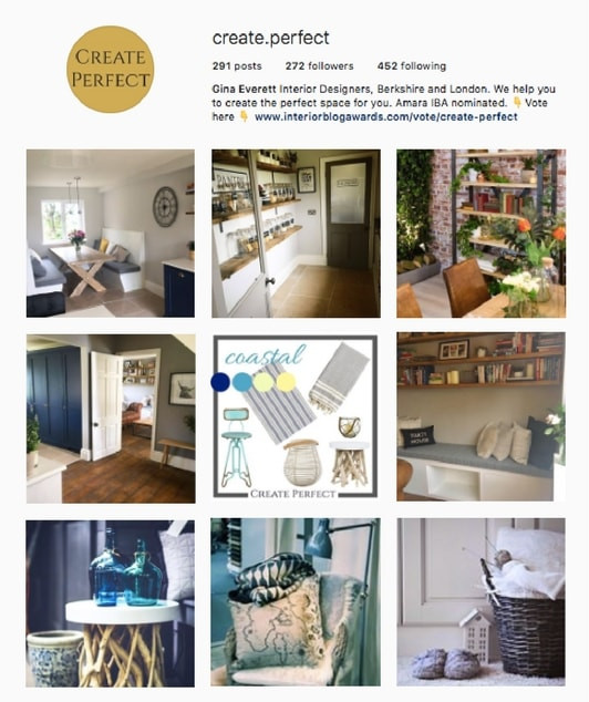 Follow Create Perfect on Instagram