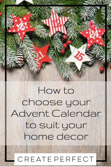 Choosing advent calendars