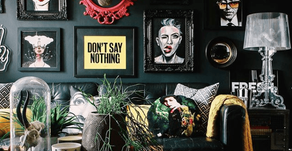 Halloween in Your Home Decor - All Year Long!