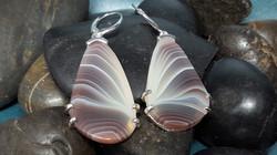 Custom Botswana Agate Earrings