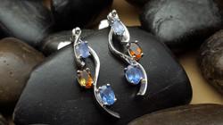 Custom Argentium Silver Earrings