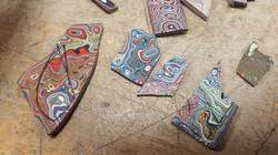 Variety of Fordite Rough