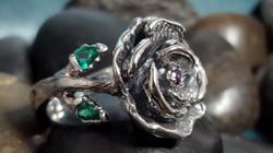 Custom Rose Mothers Ring