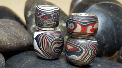 Fordite Beads