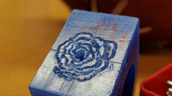 Wax Prototype, Flower Ring