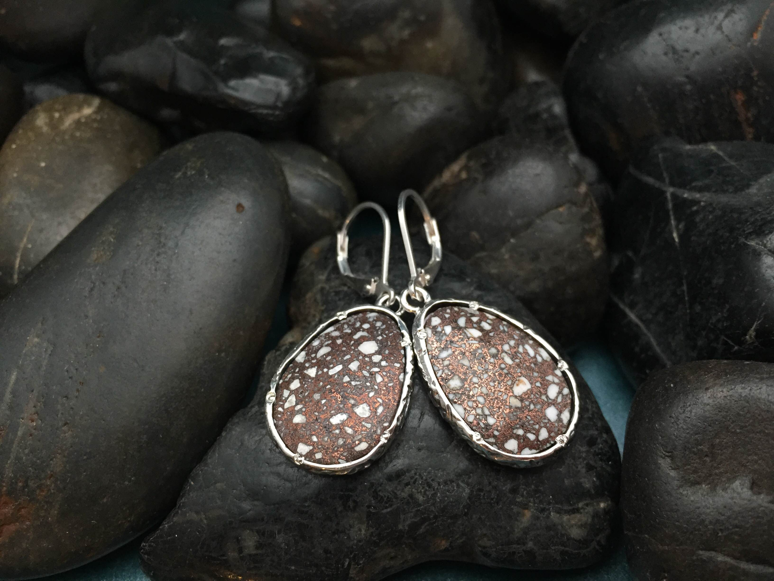 Custom Copperbrick Earrings