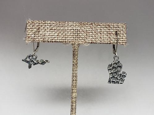 Petoskey Stone Inspired Michigan Earrings