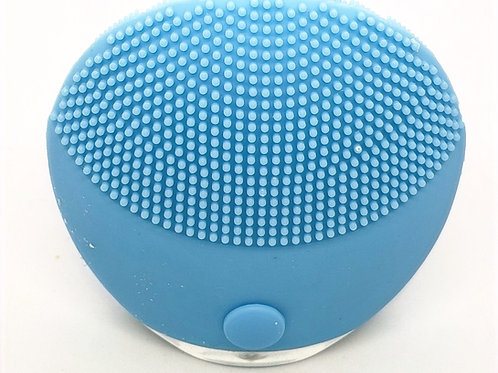 Ultrasonic silicone facial cleansing brush