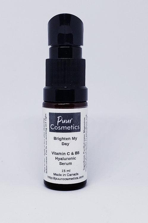 Brighten My Day - Vit C & B5 Hyaluronic Serum
