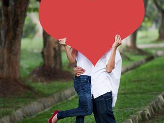 《愛》のお祝い