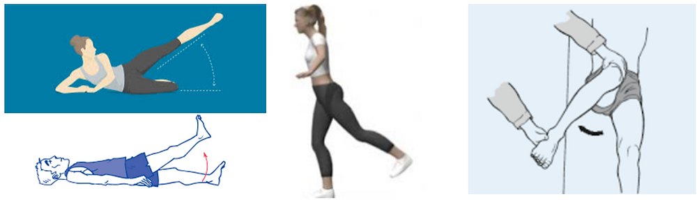 "The many planes of movement we can achieve through healthy hips. These contribute to a ""well rounded"" butt, both aesthetically and functionally."