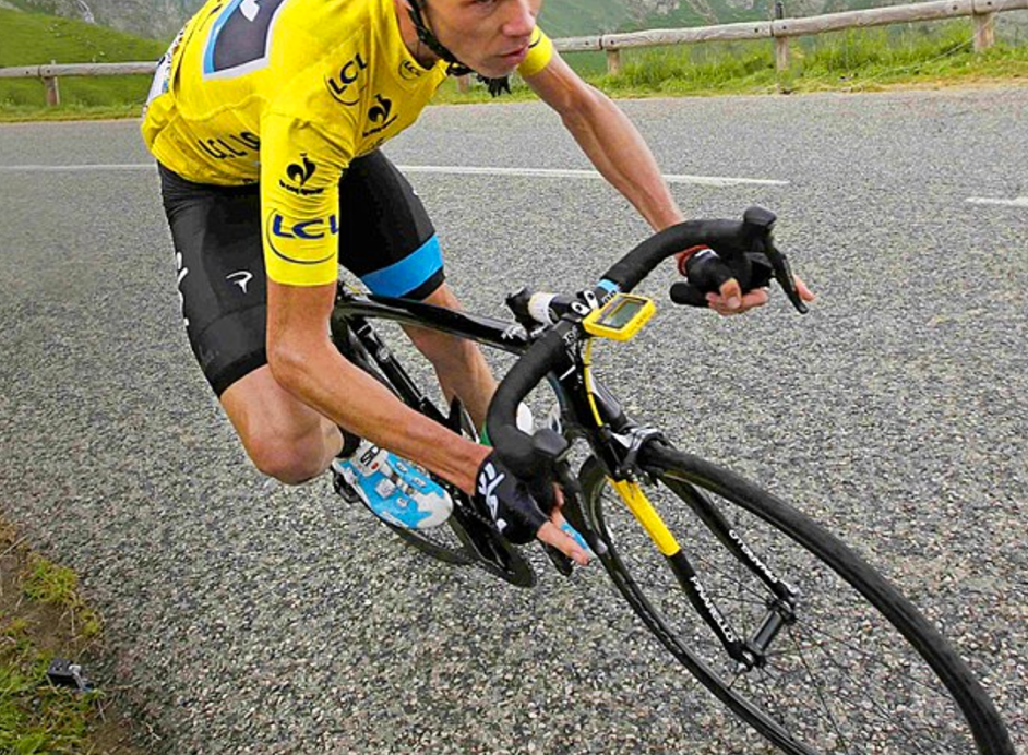 Chris Froome gets paid to skip arm day, do you?