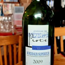 2009 Bordeaux Supérieur Rouge, Cuvée Prestige