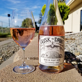 2018 Dusk to Dawn, rosé Pinot Noir