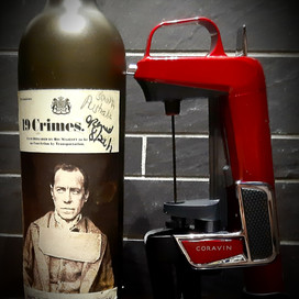 The Coravin trials, part 1: 2017 19 Crimes Cabernet Sauvignon