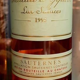 1995 Château d'Yquem, Sauternes
