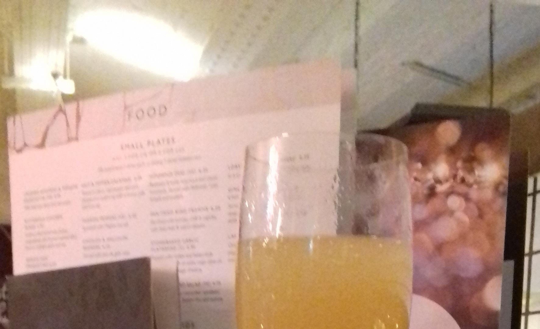 Mimosa at The Barrowboy & Banker