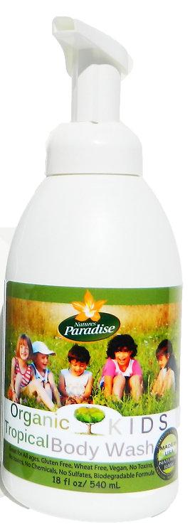 Organic KIDS Safe Foaming Body Wash 18oz