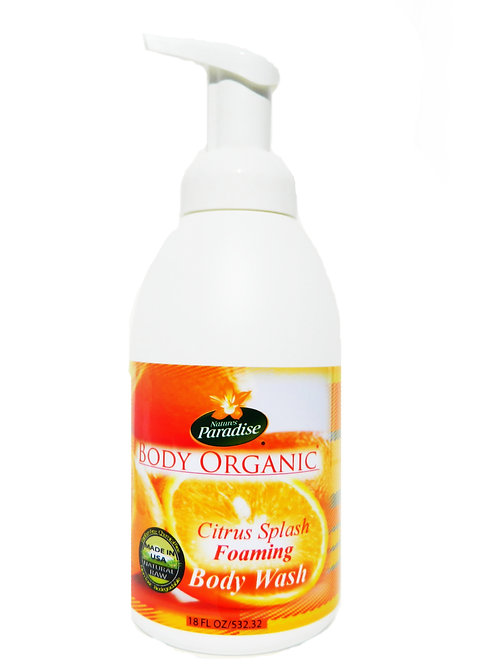 BODY ORGANIC Citrus Splash Body Wash 18oz