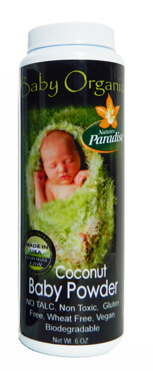 Baby Organic Powder 5.5oz- No Talc