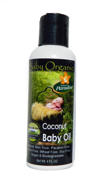 Baby Organic Baby Oil 4oz