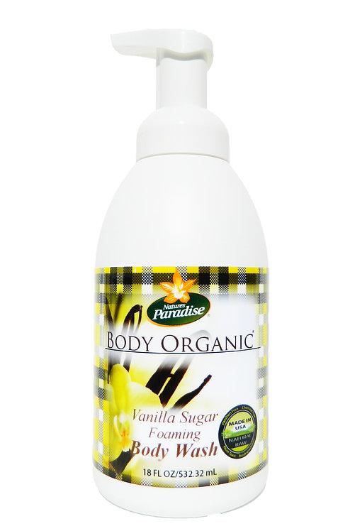 BODY ORGANIC Vanilla Sugar Body Wash 18oz