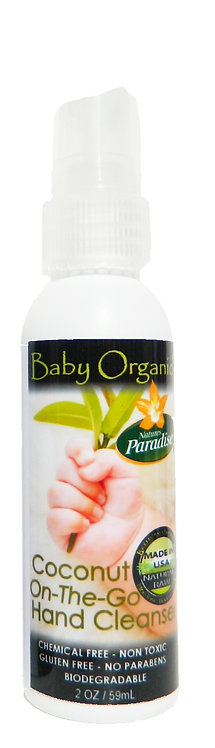 Baby Organic On the go Hand Cleanser 2oz