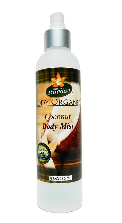 BODY ORGANIC Coconut Body Mist 8oz