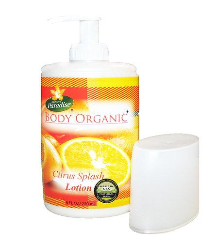 BODY ORGANIC Citrus Body Lotion 9 oz