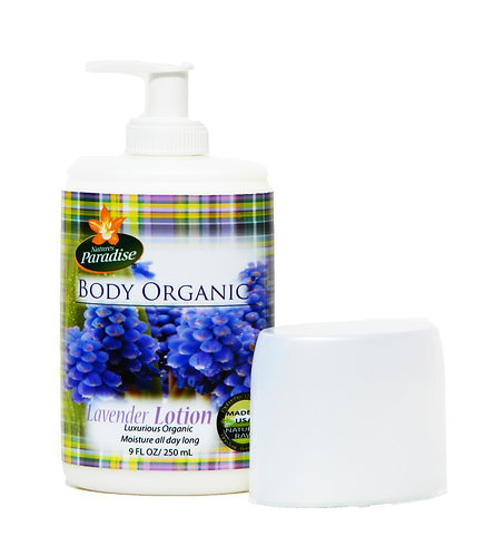 BODY ORGANIC Lavender Soothing Lotion 9oz