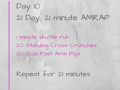 21 Day Challenge - Day 10