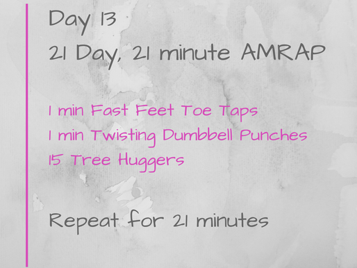 21 Day Challenge - Day 13