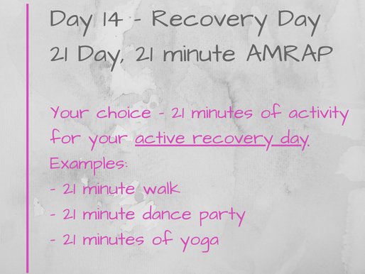 21 Day Challenge - Day 14
