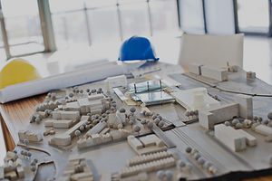 Costruction materials and plans for multifamily real estate development