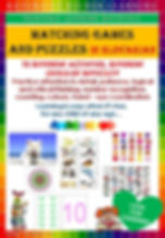 Slovakian learning, naturally richer learing materials, downloadable, printable, matching games, puzzles, homeschooling binder, folder, attention to detail, patience, logical, critical thinking, number letter recognition, counting, colors, hand eye coordination