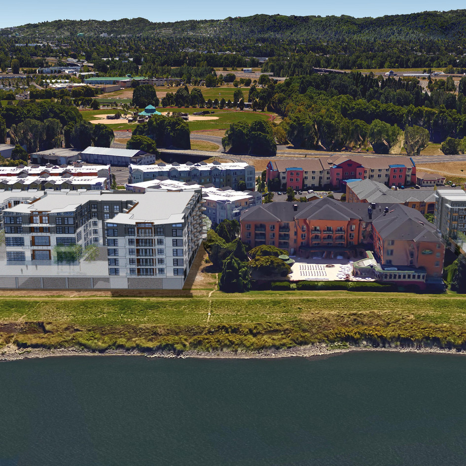 Harbor Sky - Multifamily Complex Under Construction